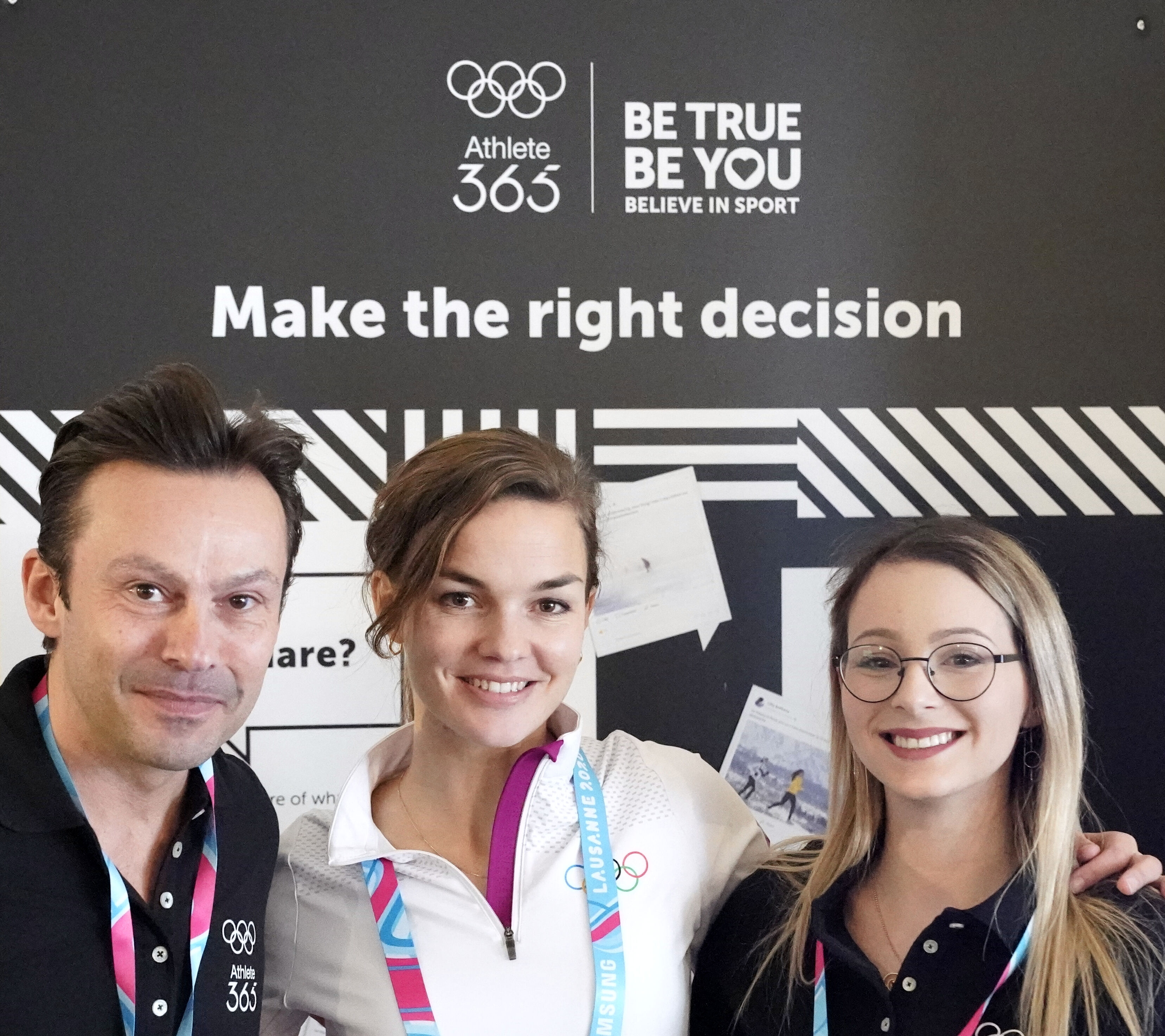 Play Fair Code at the Young Olympic Games in St. Moritz